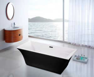 Abzu Acrylic 67 in Rectangular Freestanding Bath Tub pictures & photos