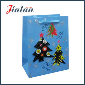 Christmas Tree Customize Gift Logo Printed Holiday Design Paper Bag pictures & photos