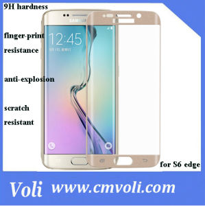2015 Anti-Broken Cell Phone Tempered Glass Screen Protector for Samsung S6 Edge pictures & photos