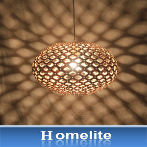Modern & Duplicate Ancient Customs Wood Pendant Light