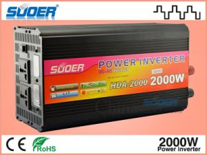 Suoer 2000W Solar Power Inverter with Charger (HDA-2000C) pictures & photos