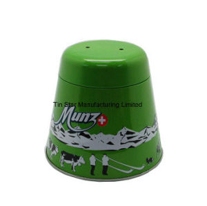 Christmas Bell Tin Box for Chocolate/Candy/Gift Packaging Box