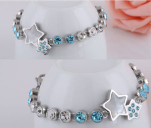 Stainless Steel Jewelry Diamond Bracelet (hdx1057) pictures & photos