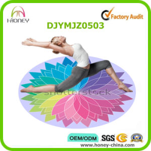 Premium Round Yoga Mat Unique Design Decorational pictures & photos