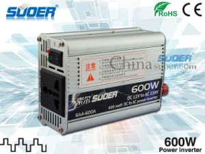 Suoer Power Inverter 600W Inverter 12V to 220V (SAA-600A) pictures & photos