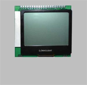 128X128 Dots Graphic Cog Mono LCD Module with PCB pictures & photos