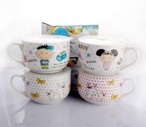 High Quality Ceramic Mug with Plastic Cover pictures & photos