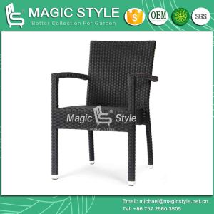 Stackable Chair Dining Chair Patio Chair Wicker Hotel Project Coffee Chair (MAGIC STYLE) pictures & photos