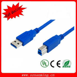 Type a Male to Type B Male USB 3.0 Printer Cable, Blue pictures & photos