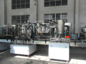 Semi-Auto Samall Capacity Carbonated Drink Filling Line pictures & photos