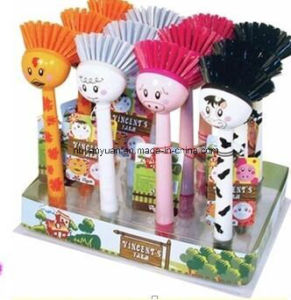 Plastic Brush for Kitchen Cleaning pictures & photos
