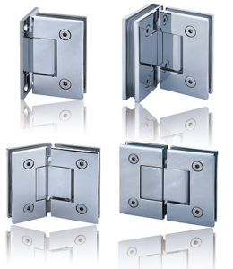 135 Degree Glass to Glass Zinc Alloy Shower Hinge pictures & photos