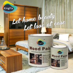 Kingfix Yellow Resistant Wood Craft Paint pictures & photos