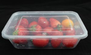 PP Plastic Fresh Keeping Microwave Food Container pictures & photos
