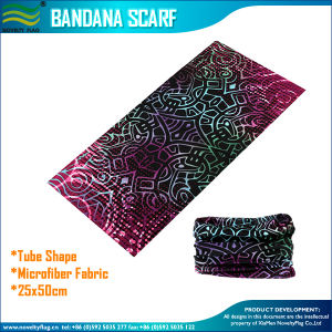 Customized Microfiber Polyester Multi-Functional Seamless Bandana (J-NF20F20017) pictures & photos
