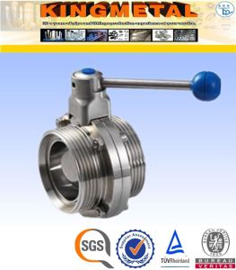2/4/6/ Inch 2PC Ss304 Sanitary Ball Valve Price for Food Industry pictures & photos