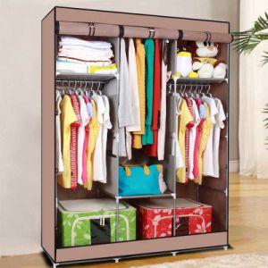 Single New Fabric Wardrobe Closet