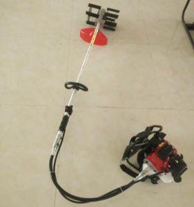 Knapsack 52cc Gasoline Tiller Cultivator Weeder Weeding Machine pictures & photos