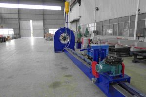 Pole Making Machine with Welding Function