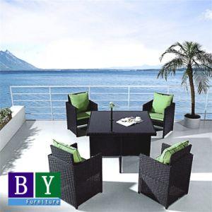 PE Rattan Furniture Outdoor Restaurant Dining Set pictures & photos