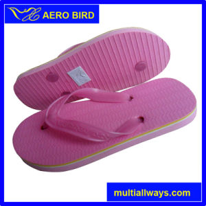 2016 Pink PVC Slipper Sandal for Women (13L061) pictures & photos