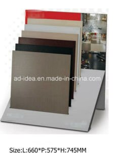 Simple Design Metal Display for Marble, Granite Tile Exhibition pictures & photos