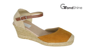 Women′s Espadrille Wedge Fashion Sandals pictures & photos