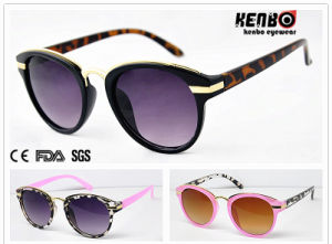 Trendy Design Fashion Sunglasses with Metal Hand of Temple for Accessory UV400 Kp50006 pictures & photos