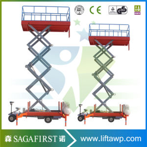 10m 12m Truck Mounted Economy Electric Aerial Sky Lift Table pictures & photos