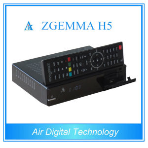 Smart Box DVB S2 DVB T2 DVB C with IPTV Support Kodi Hevc/H. 265 Zgemma H5 pictures & photos
