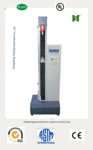 Micro-Computer Single Column 5kn Rubber/Plastic Tensile Tester pictures & photos