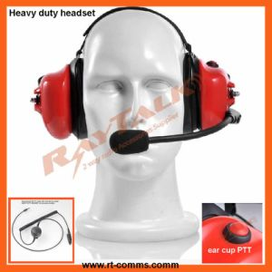 Heavy Duty Headset Noisy Cancelling Headset for Motorola Gp328 pictures & photos