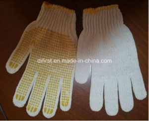 Safety Gloves with PVC DOT pictures & photos