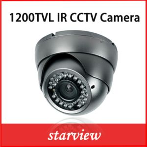 1200tvl IR Metal Dome CCTV Security Camera pictures & photos
