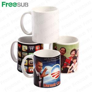 Freesub 11oz Sublimation Mug Coated Ceramic Mug pictures & photos