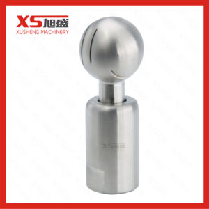 Stainless Steel Food Grade Female Threaded Tank Rotary Cleaning Ball pictures & photos