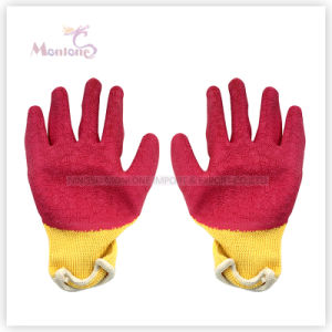 21gauge Palm Nitrile Dipped Cotton Safety Working Gloves, Garden Gloves pictures & photos