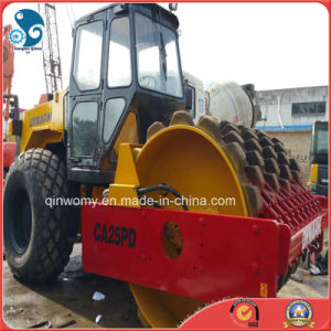 15ton-Vibration Used Dynapac Comapctor with Sheep Foot Roller (CA30/CA25PD) pictures & photos