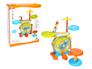 Musical Instrument Drum Kit Plastic Toy (H2162084) pictures & photos