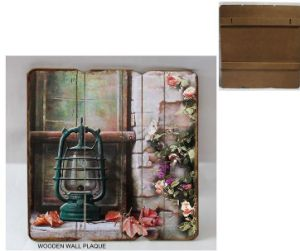 Multi-Kind Custom Wooden Wall Decoration MDF Painting for Living Room Decor pictures & photos