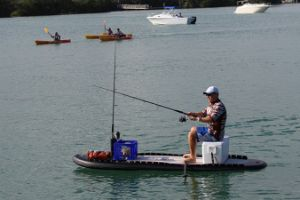 Black Air Craft Fishing Stand up Sup Paddle Boards pictures & photos