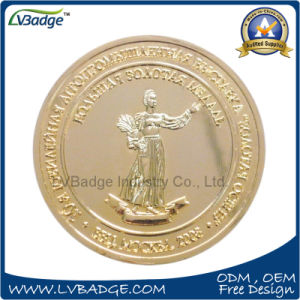 Zinc Alloy Gold Coin for Promotion pictures & photos