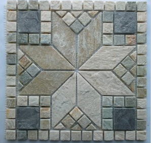 Mosaic Slate for Outdoor, Natural Slate Wall Panel/Cultured Stone pictures & photos