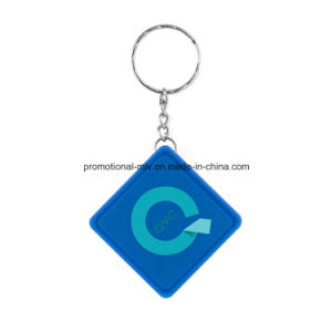Promotional Plastic Keychain with Ruler Function pictures & photos