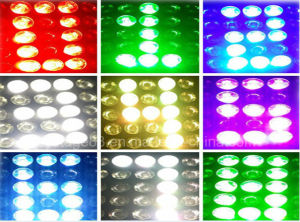 5*5 25PC 10W Osram CREE LED Matrix Beam Pixel Panel Moving Head pictures & photos