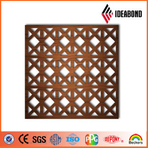 Ideabond Design CNC Carved Aluminum Perforated Panel for Ceiling Decoration Outdoor Decoration From China Supplier pictures & photos