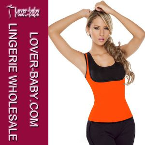 Lady Latex Waist Trainer Vest Body Shaper Underwear (L42659-4) pictures & photos