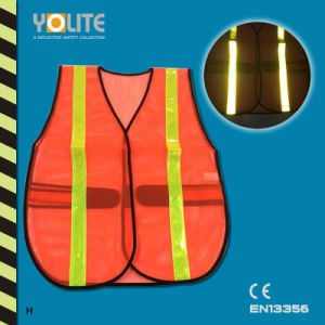 CE En13356 Reflective Safety Vest, Safety Warning Vest for Sport pictures & photos