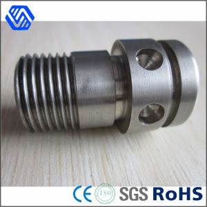 Custom Round Head 630 Material Shaft Bolt High Tensile Steel Bolt with Hole pictures & photos