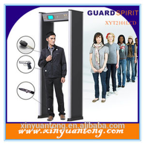 Multi Zone Walk Through Metal Detector, Security Gate for Airport Security Xyt2101LCD pictures & photos